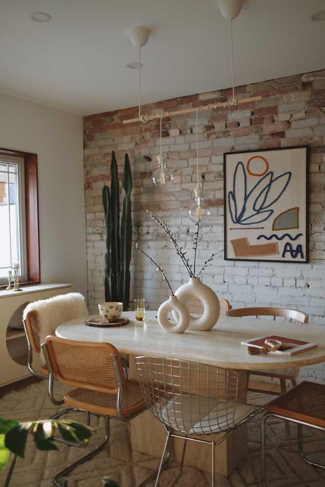 Bertoia e Cesca: ícones do design na sala de jantar