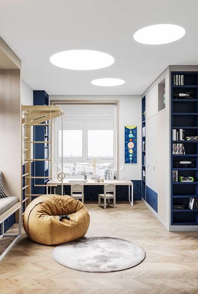 Mostarda e azul: duas cores que se combinam e se completam
