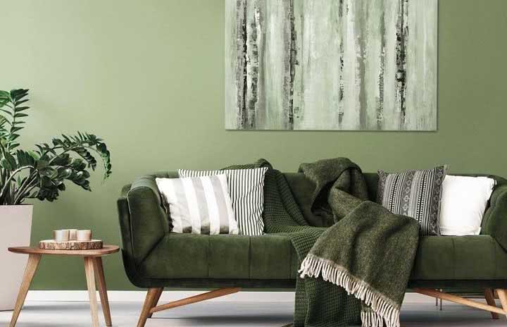 Sofá verde: como combinar o item e modelos com fotos