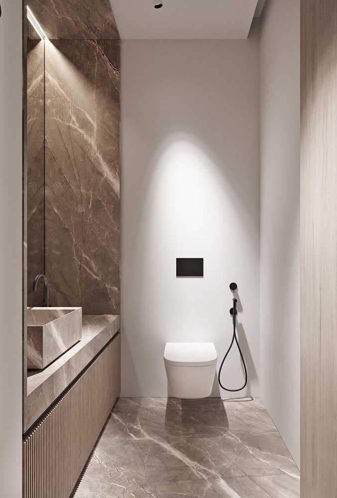 Para quê usar mármore, se você pode ter um custo beneficio muito melhor com o porcelanato?