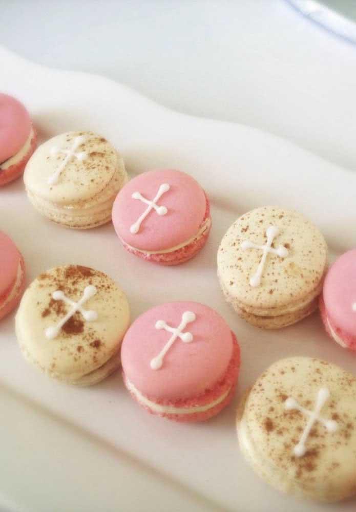 Macarons para deixar a sua festa mais doce e colorida
