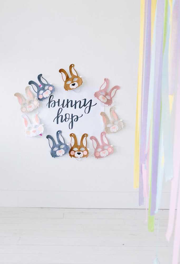 Prepare uma festa infantil simples, mas feita com todo carinho.