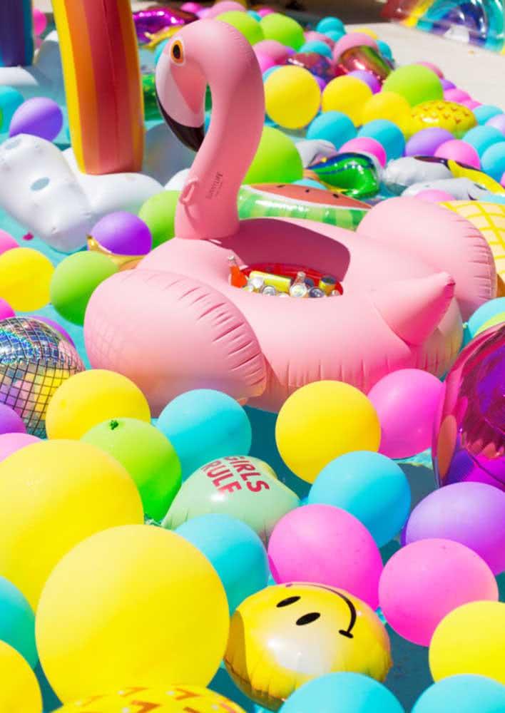 Balões para deixar tudo ainda mais bonito e cheio de cor