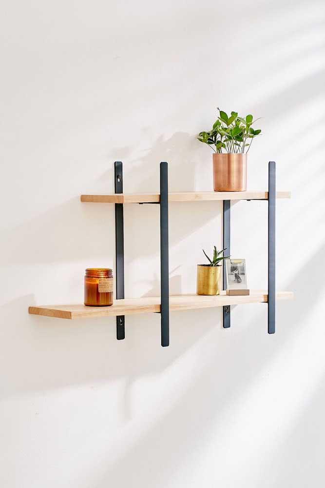Industrial e minimalista