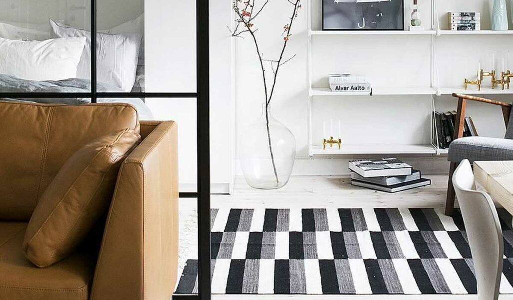 Tapete preto e branco capa