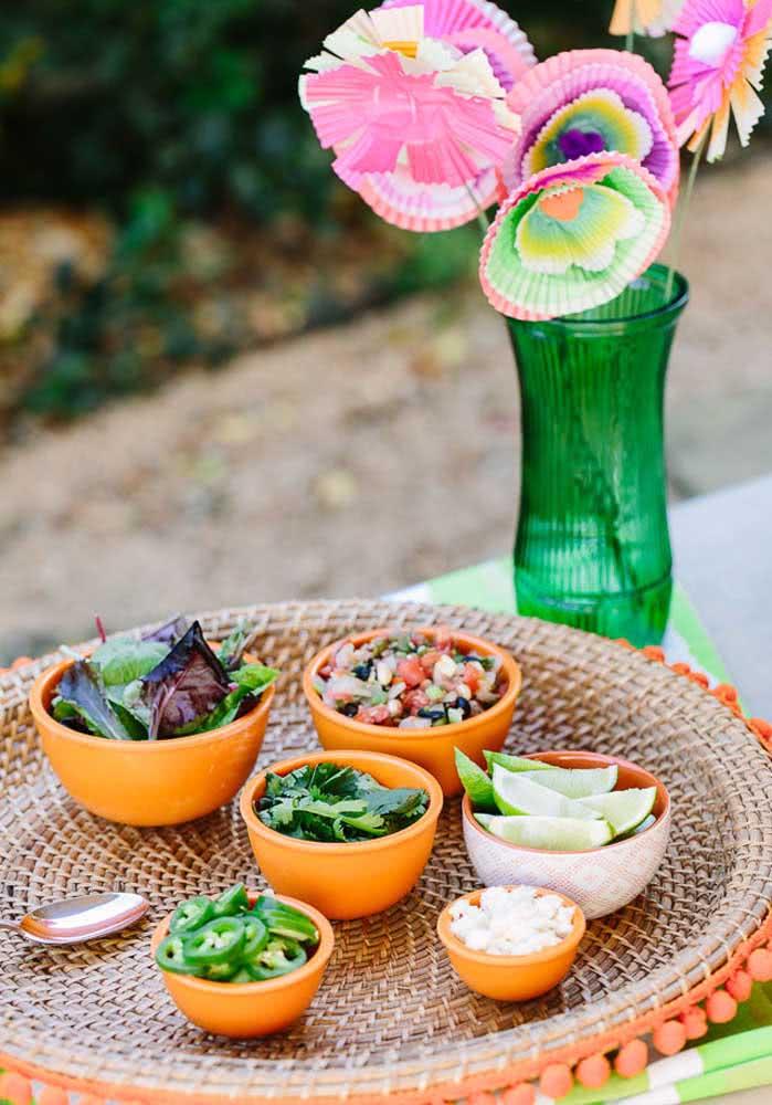 Pimentas, limão, coentro, alho e tudo mais que tiver sabor e aroma marcante entram no menu da noite mexicana