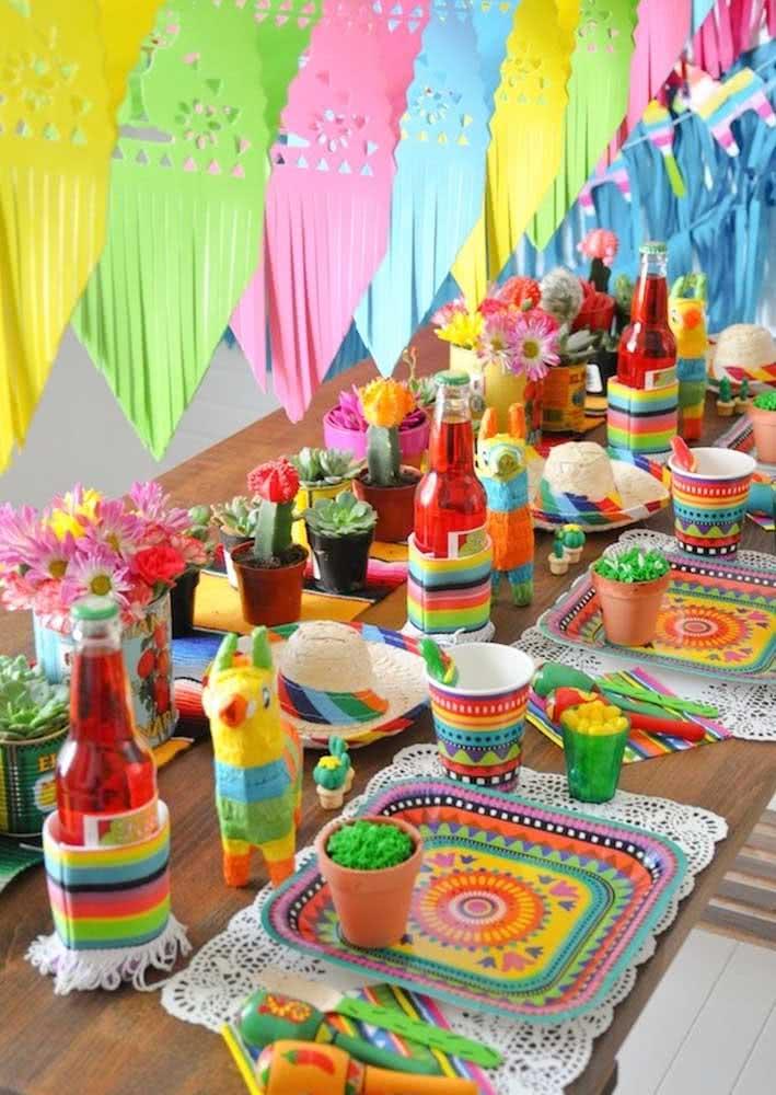 Como se faz uma noite mexicana? Com muita cor e elementos tradicionais