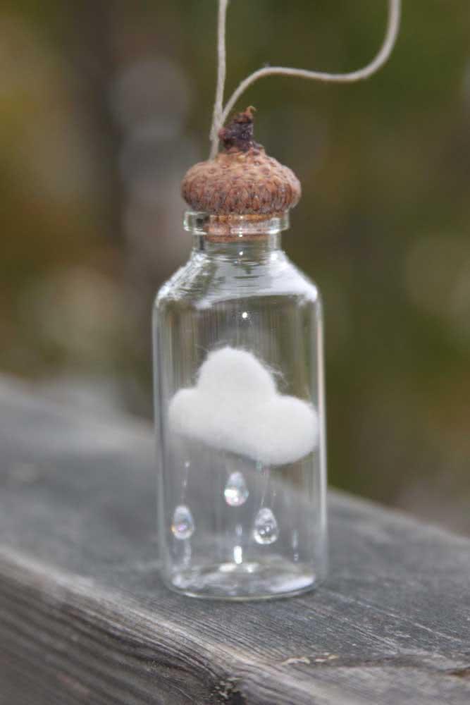 Que tal capturar uma chuva de amor e guardá-la no vidrinho? Aqui, é essa mesma a ideia