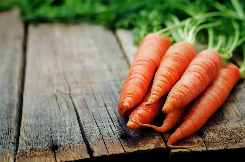 Como escolher cenouras