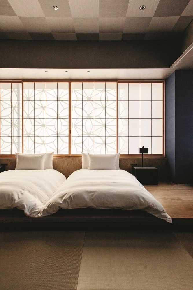 A casa japonesa inspira tranquilidade e paz
