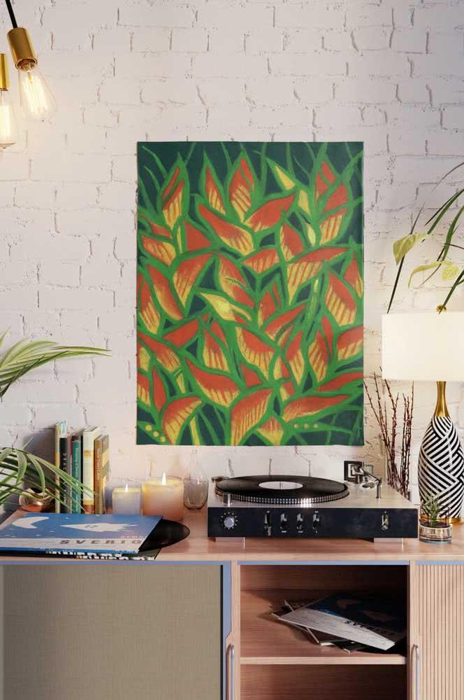 E se não dá pra ter a planta verdadeira, você pode ter um quadro