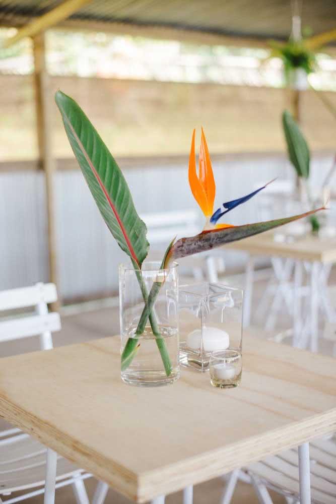 Helicônia: uma das espécies mais exóticas para decoração de festas