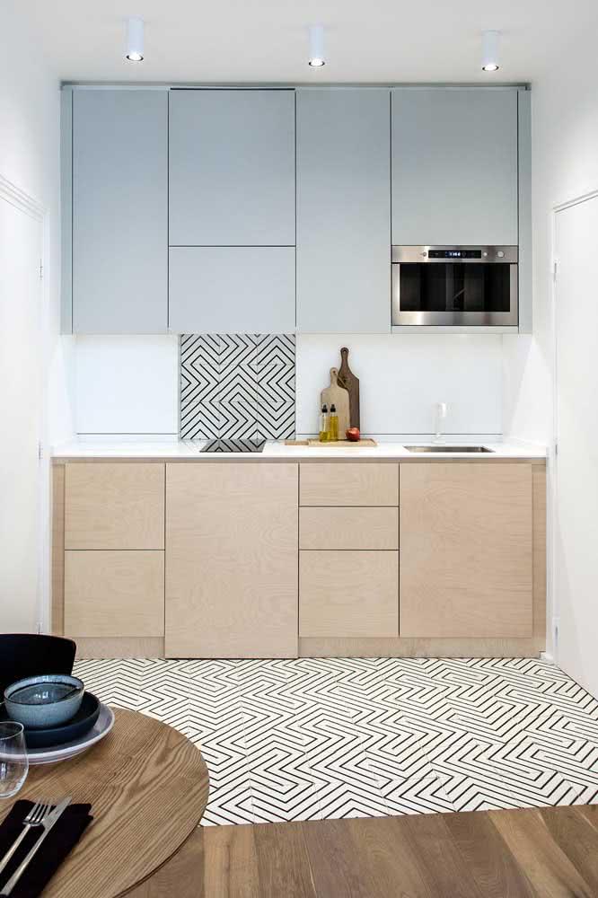 Cozinha de madeira minimalista existe? Claro que sim!