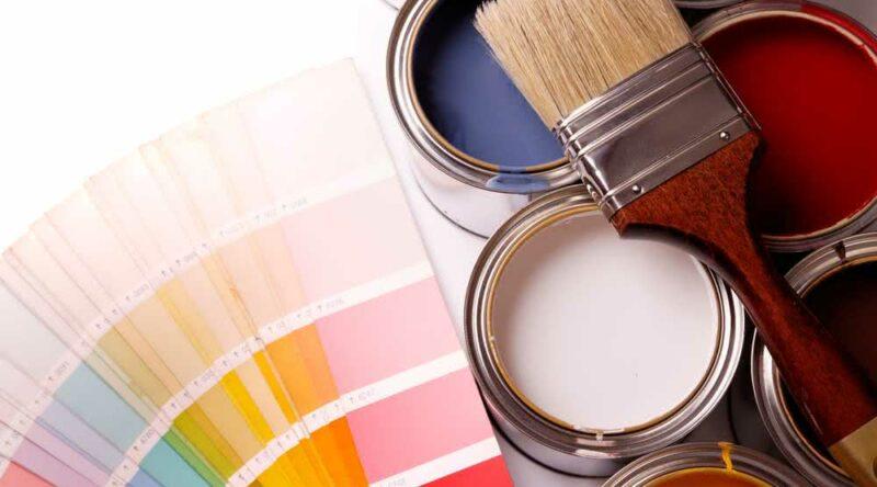 Tipos de tinta: veja quais são as principais para usar em casa