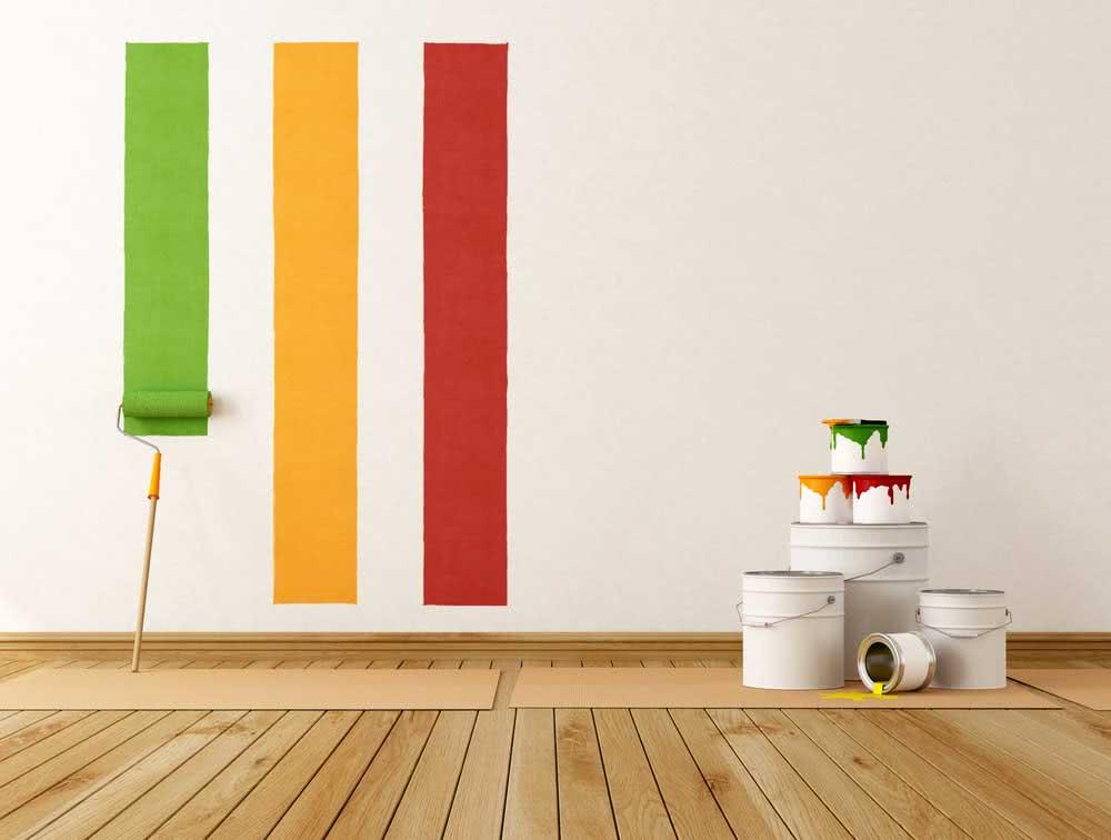 Tipos de tintas para pintar a parede