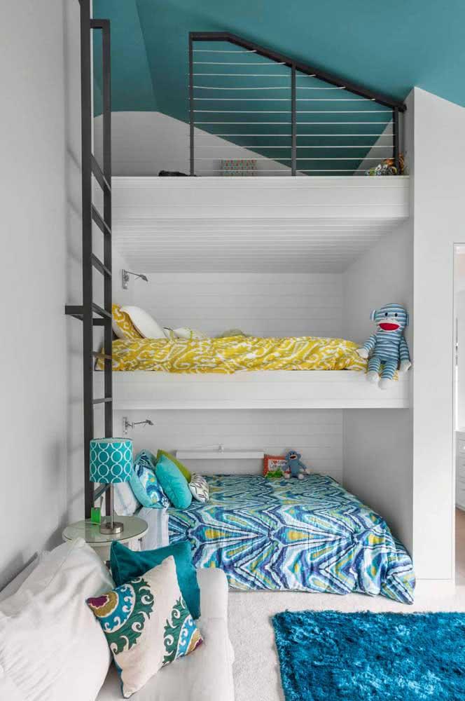 Triliche com cama de casal: as crianças vão amar a experiência