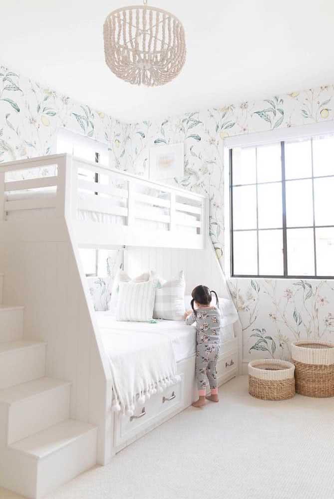 Segurança e conforto são prioridades no projeto da cama beliche planejada
