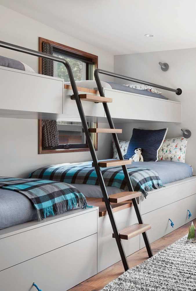 Quadriliche: ótima para quartos de irmãos ou para receber visitas