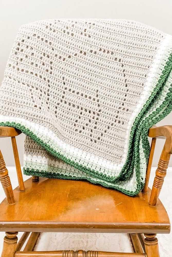 Essa manta de crochê é uma preguiça só...literalmente!