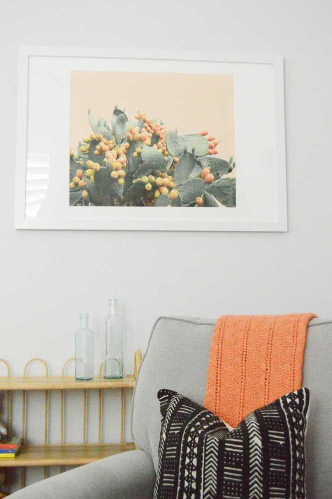 Manta de crochê laranja para energizar e aquecer
