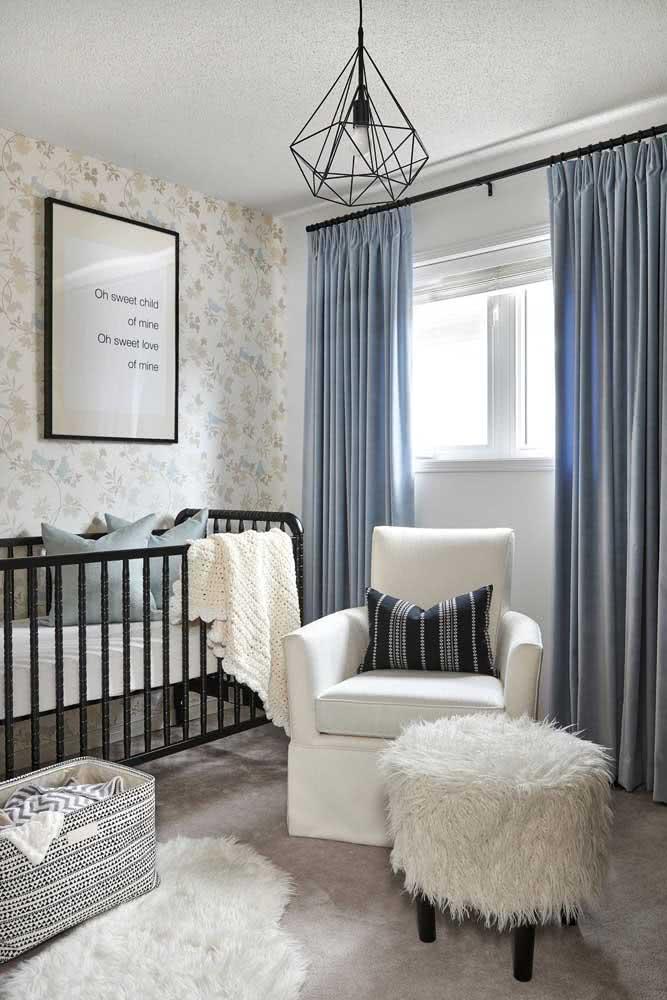 Manta de crochê branca para bebê: uma cor neutra que sempre agrada
