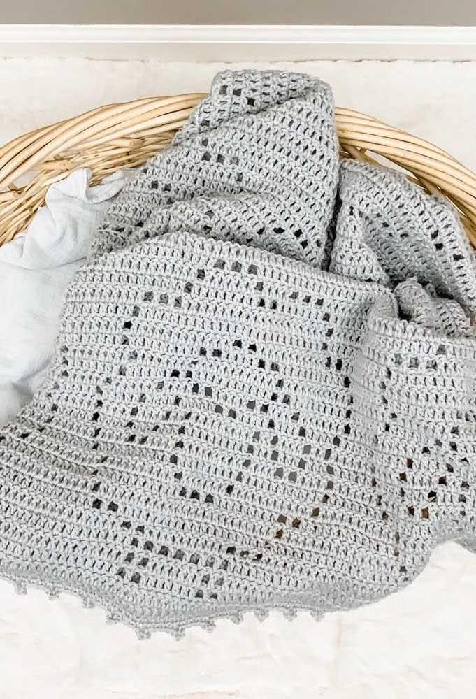 Para fazer mantas de crochê mais elaboradas é importante contar com a ajuda de gráficos