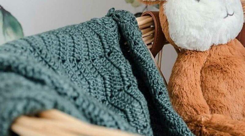Manta de crochê para bebê: como fazer passo a passo e fotos incríveis para se inspirar