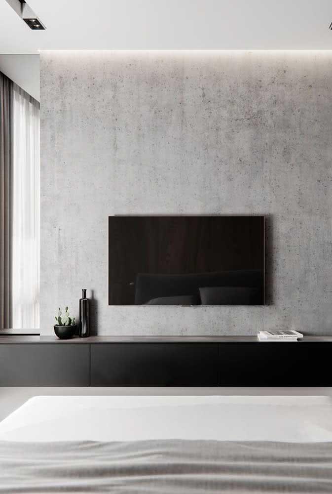 Cimento queimado ou concreto aparente: uma opção de revestimento que tem uma textura de parede ótima para qualquer ambiente.