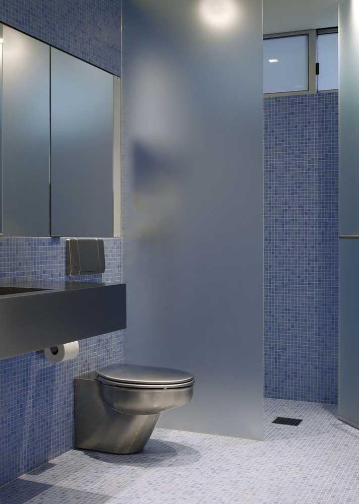 Azul e cinza inspiram modernidade