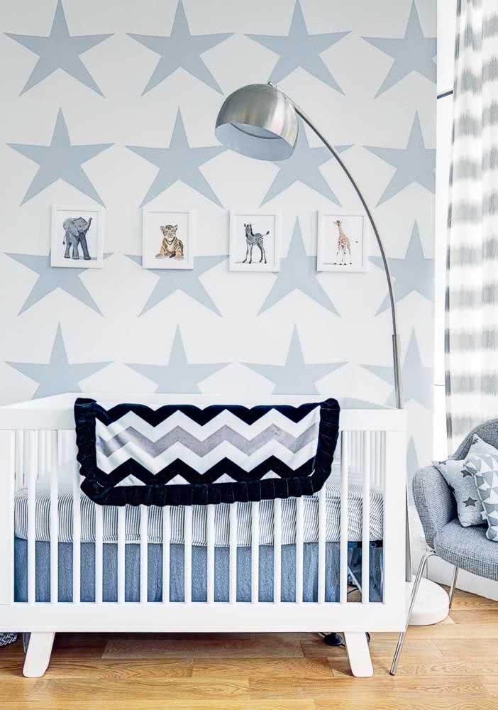 Um clássico no quarto de bebê menino