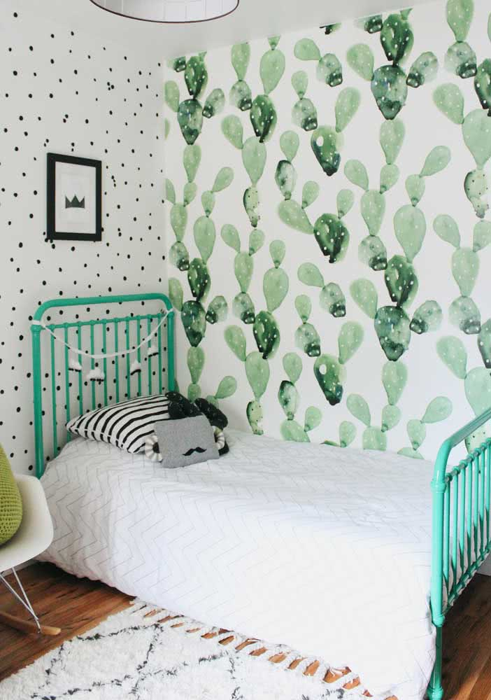 Verde para acalmar os ânimos infantis