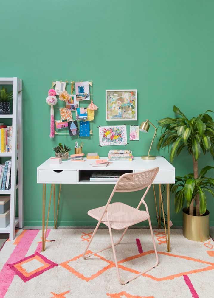 Home office verde: o estresse passa longe!