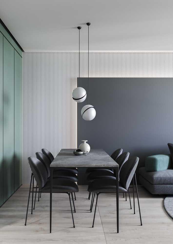 O cinza é a cor dos ambientes modernos