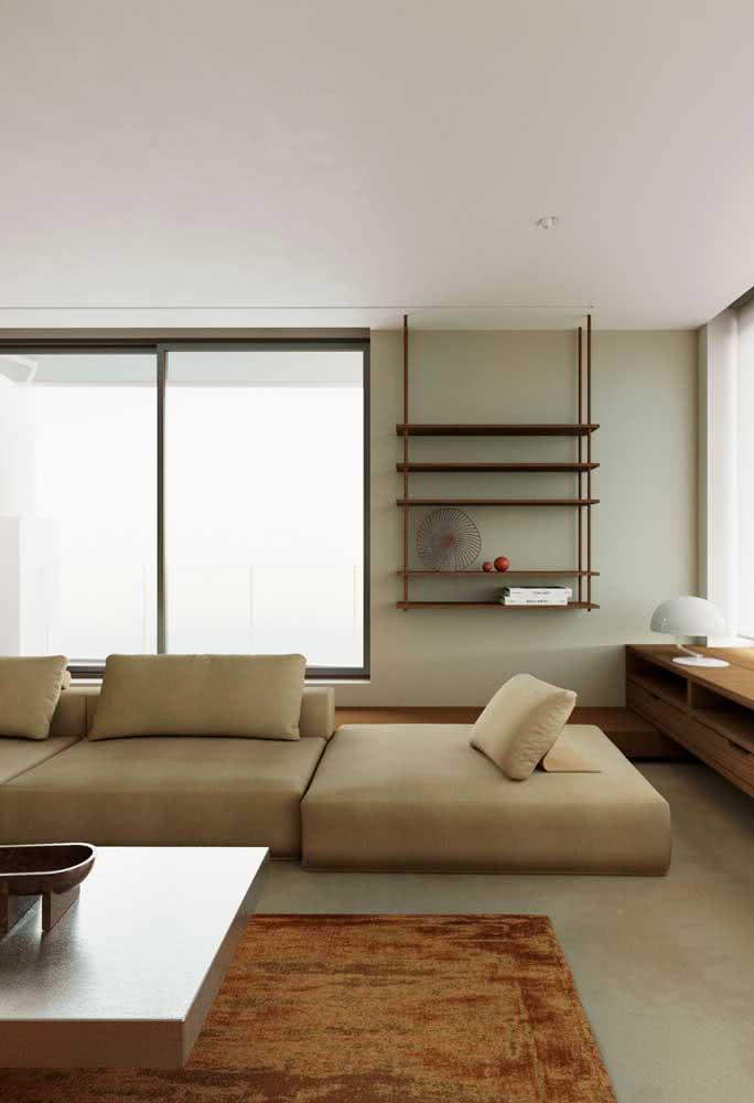Moderno e confortável