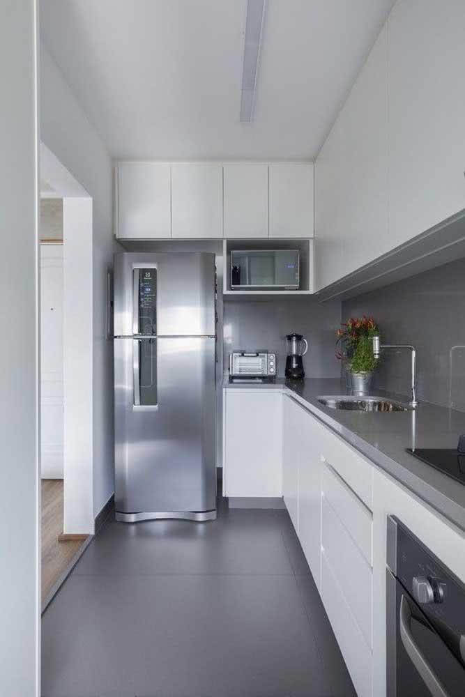 Fosco e moderno como todo piso porcelanato retificado e acetinado deve ser!