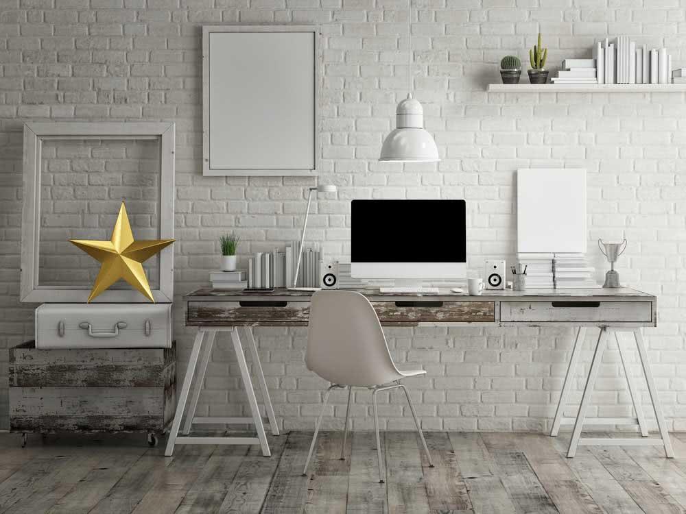 Iluminação home office