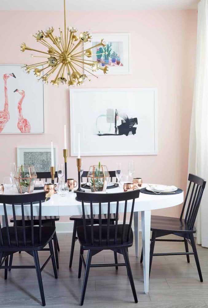 Originalidade e estilo é com ela mesma: a mesa oval!