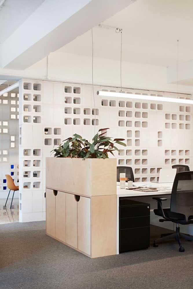 Divisórias de cobogó de concreto para o escritório moderno