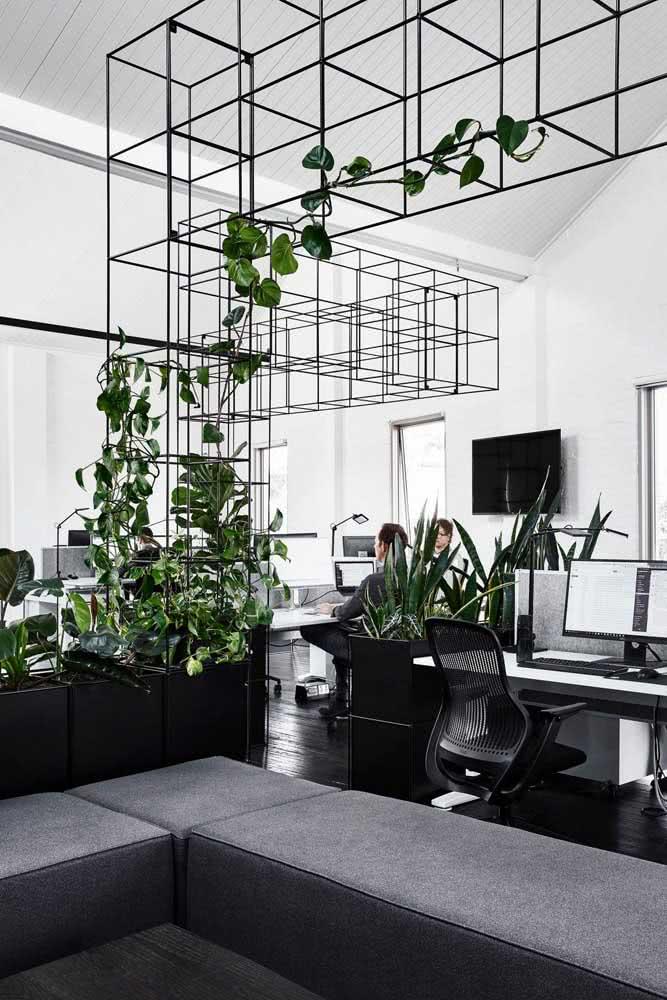 Divisórias para escritório feitas com chapas de cortiça