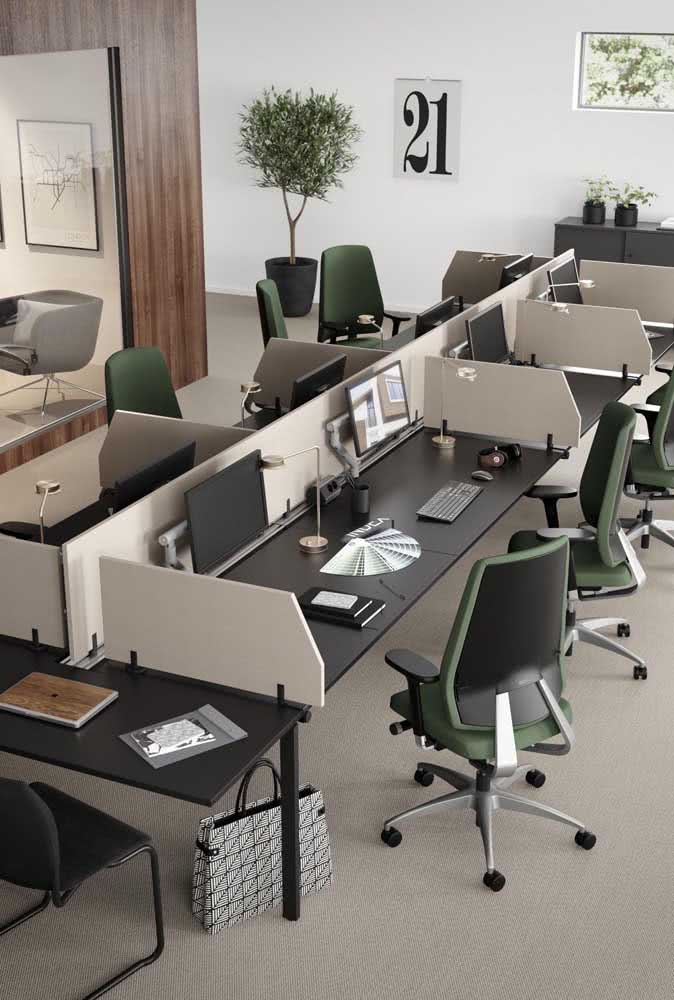 Divisórias para escritório simples e eficientes