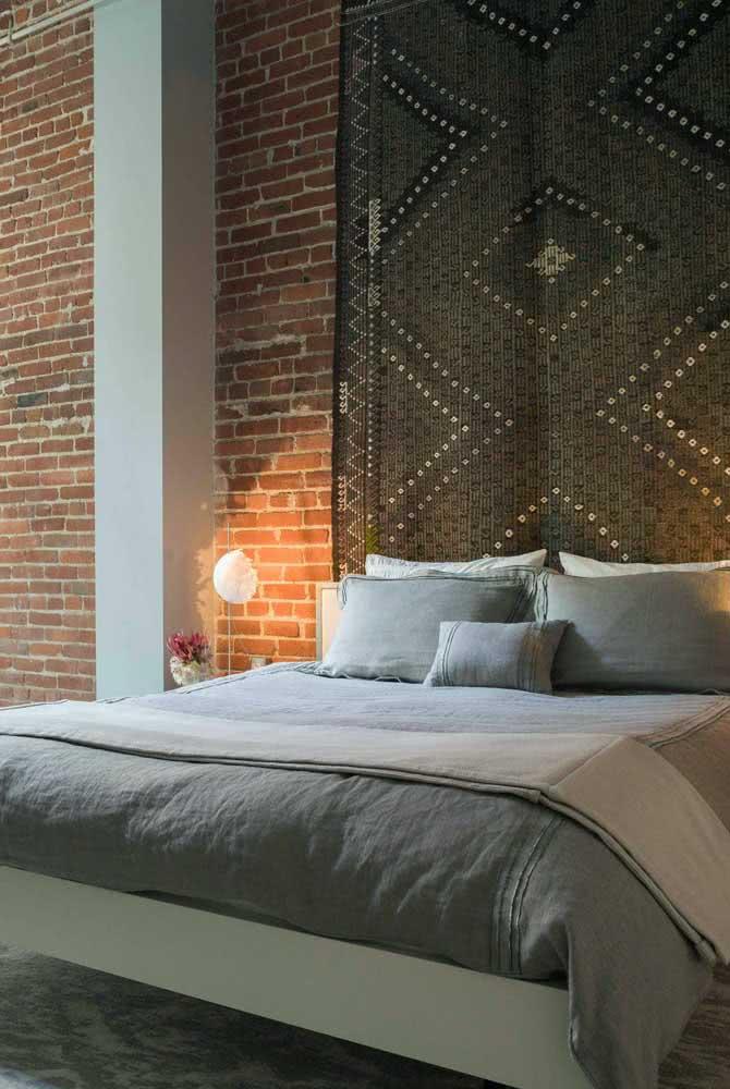 Capriche na escolha da cabeceira para deixar a cama flutuante ainda mais bonita