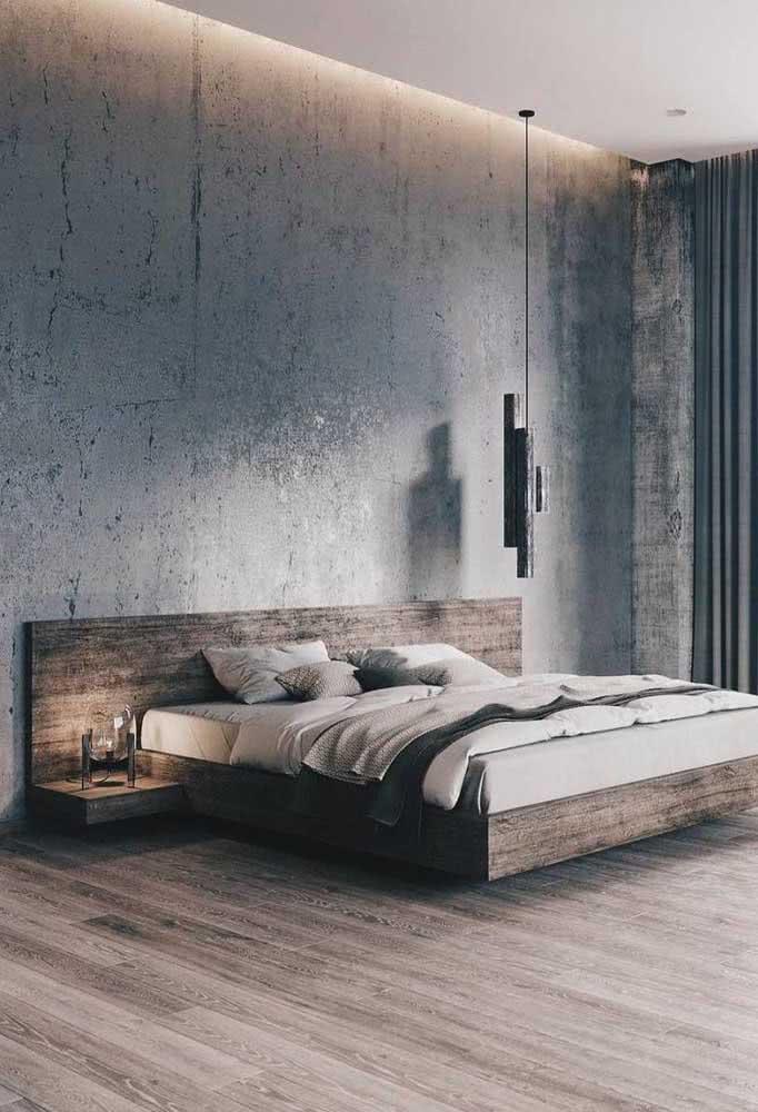 A cama flutuante se encaixa em qualquer estilo e tamanho de quarto