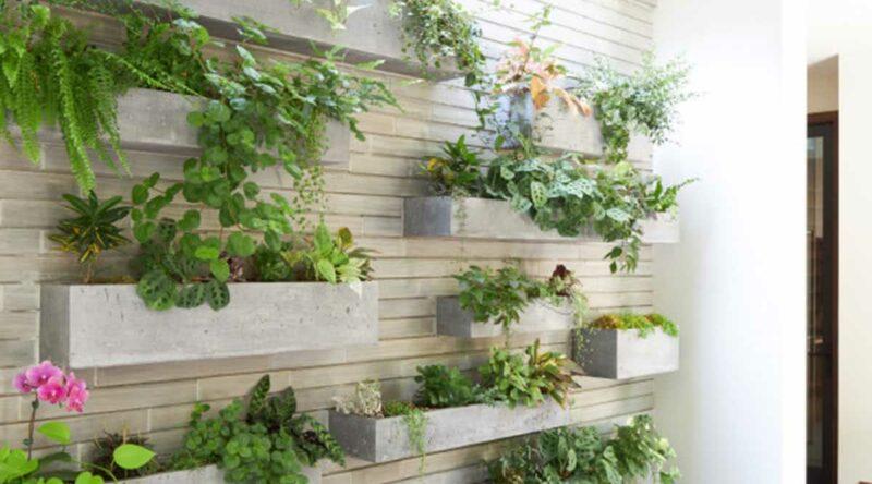 Floreira de parede: como fazer e ideias incríveis para se inspirar