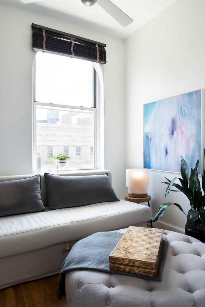 Sofá cama para sala pequena: opção para quem sempre tem visita em casa