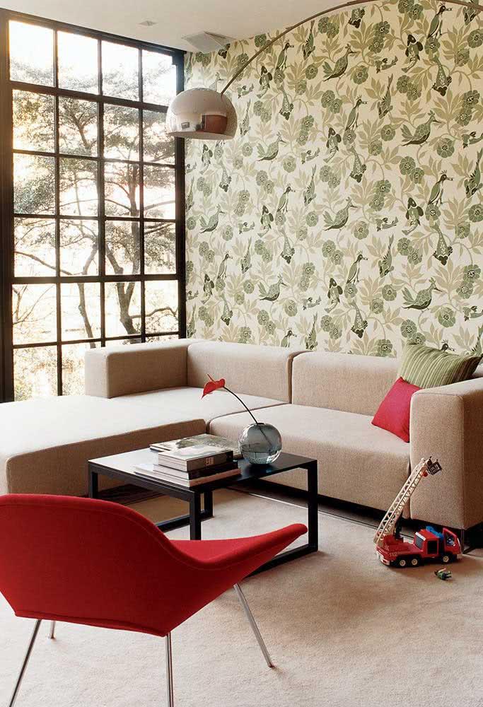 Sofá de canto para sala pequena. Quanto mais moderno e clean o formato, melhor