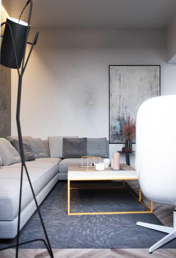 Para aproveitar o máximo possível cada centímetro da sua sala pequena, aposte em um sofá de canto planejado