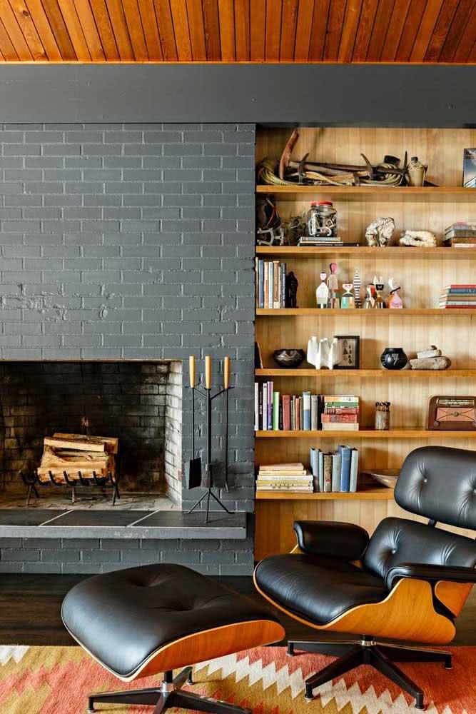 Cinza chumbo e tons naturais para a combinação perfeita entre modernidade e aconchego