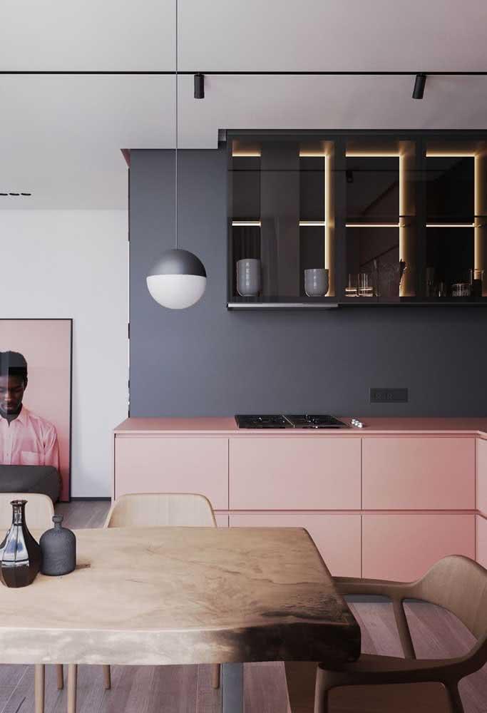 Cinza chumbo e rosa: uma combinação inesperada e surpreendente