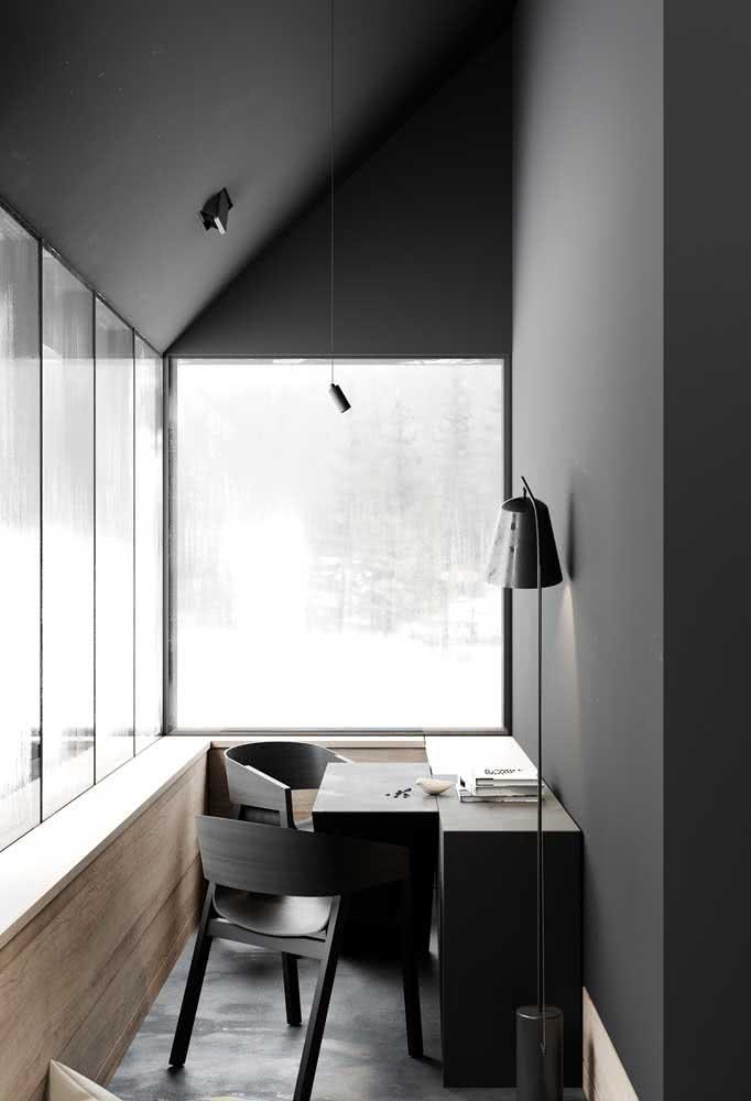 Cinza nas paredes: o novo bege