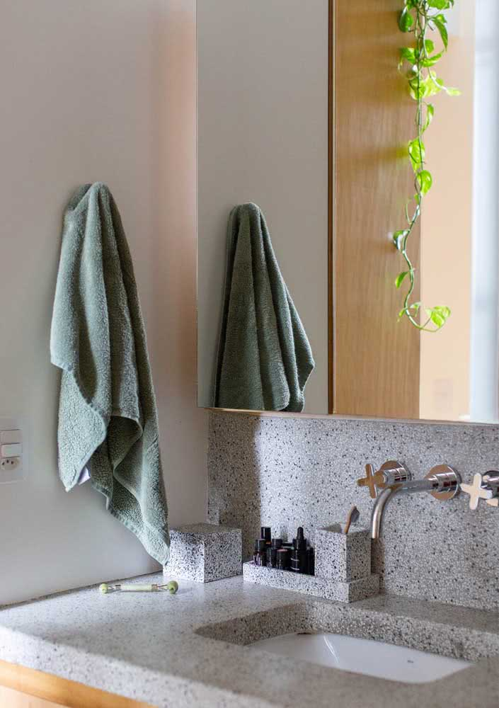 E se até o kit do banheiro for de granito?